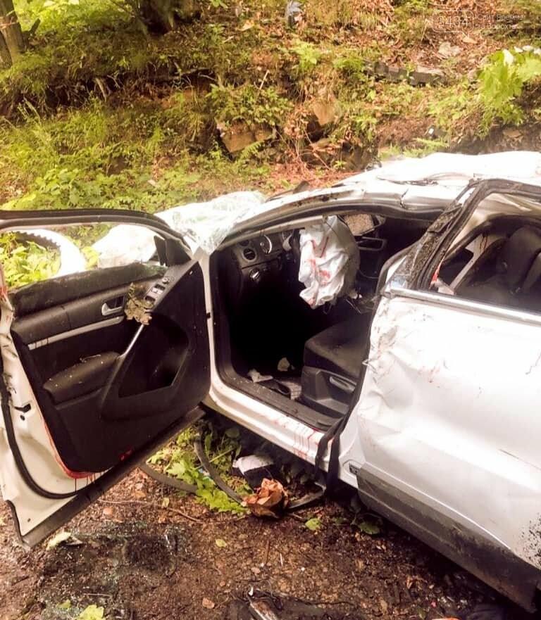 Автомобільна аварія в Яремче. 07.07.2021